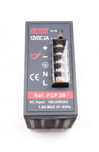 FUENTE ALIM.CONMUT.2A IP-20 12V DC FCPB2
