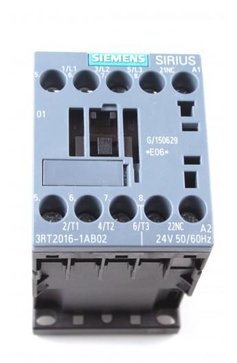 CONT.AC-3 4Kw 400V 1NC AC 24V S00 TORN. 3RT2016-1AB02