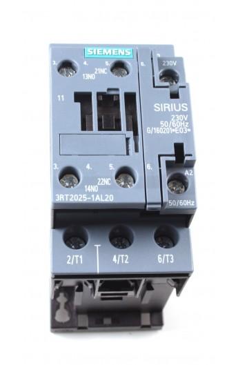 CONT.AC-3 7,5Kw 400V NA+NC 230V S0 TORN. 3RT2025-1AL20