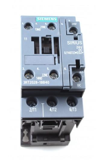 CONT.AC-3 18,5Kw 400V NA+NC 24V S0 TORN. 3RT2028-1BB40