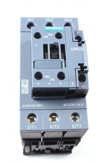 CONT.50A 230V 22Kw 1NA+1NC BNE.TORN. 3RT2036-1AL20
