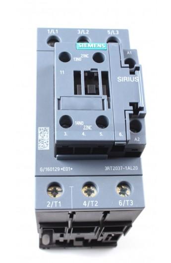 CONT.65A 230V 30Kw 1NA+1NC BNE.TORN. 3RT2037-1AL20